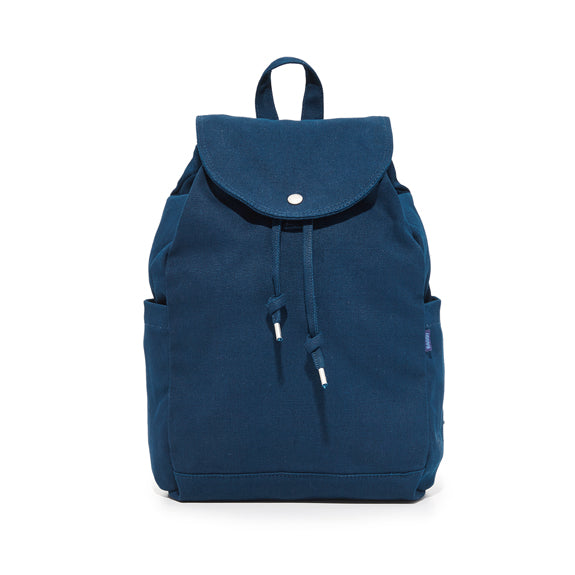 Rucksack Recycled Canvas Bag - Indigo