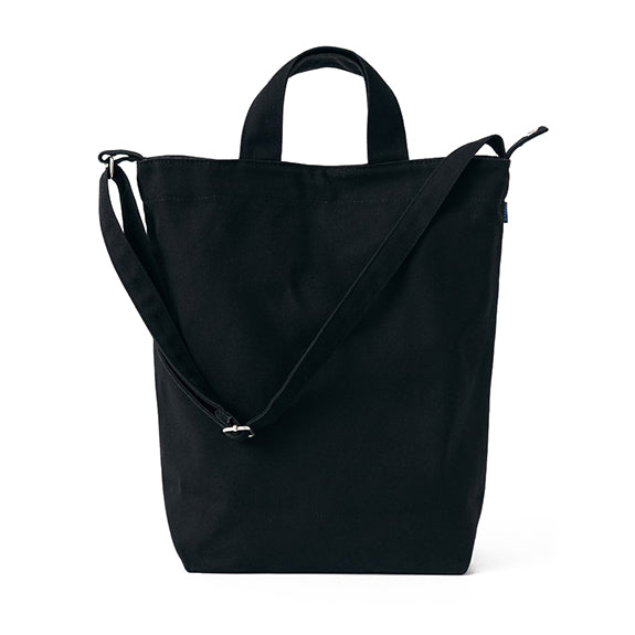 Tote Recycled Canvas Bag - Black