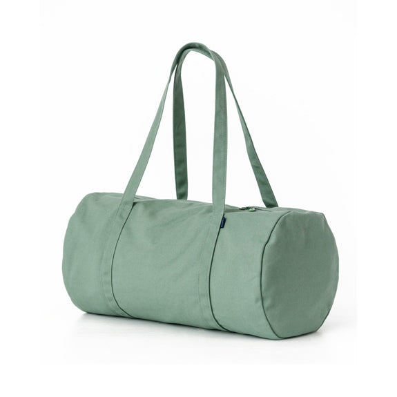 Recycled Canvas Duffel Bag - Olive Green