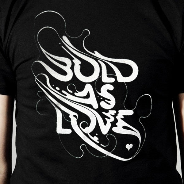 Bold As Love_By Si Scott - Black