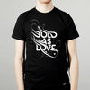 Bold As Love T-shirt_By Si Scott - Black