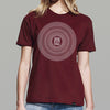 Good Vibrations T-shirt - Burgundy