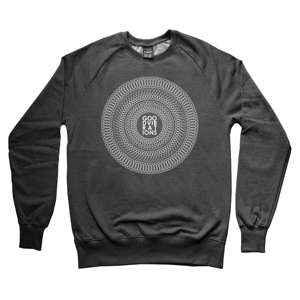 Good Vibrations Sweatshirt - Black Heather