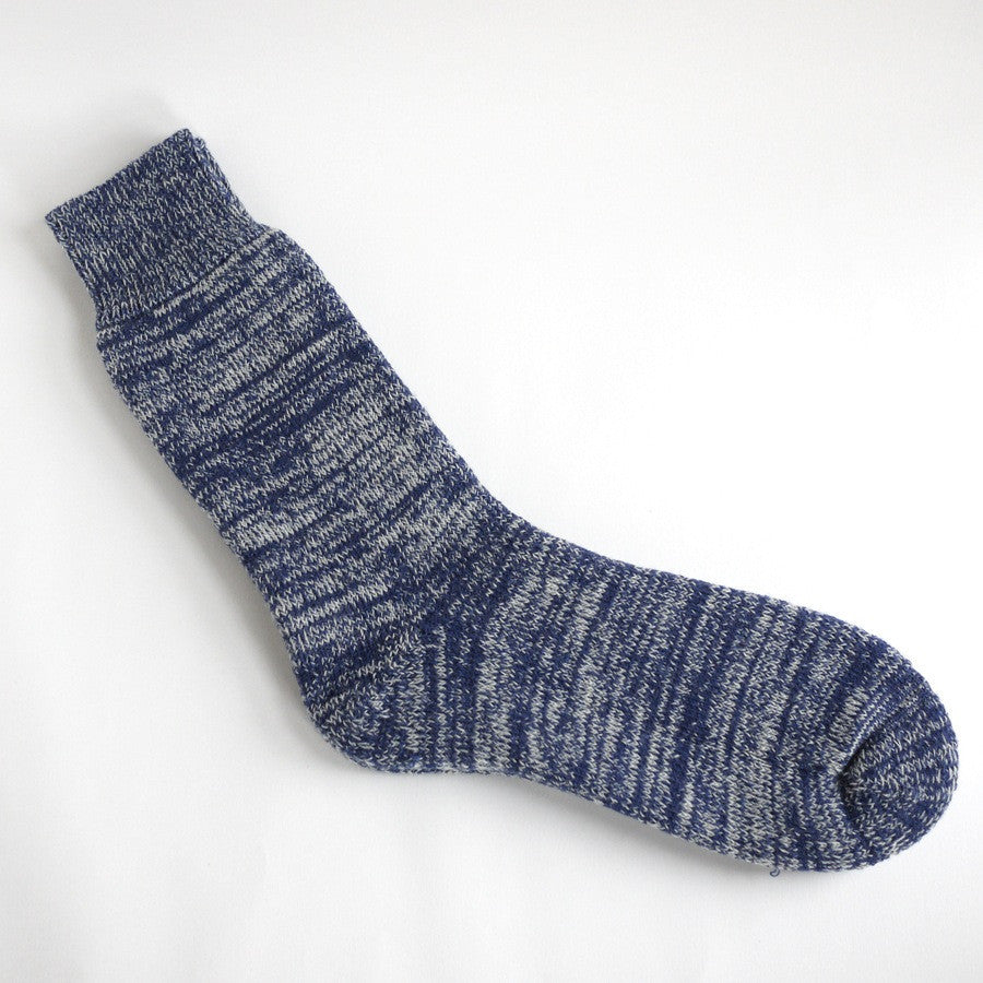 Heavyweight Wool Socks - Navy