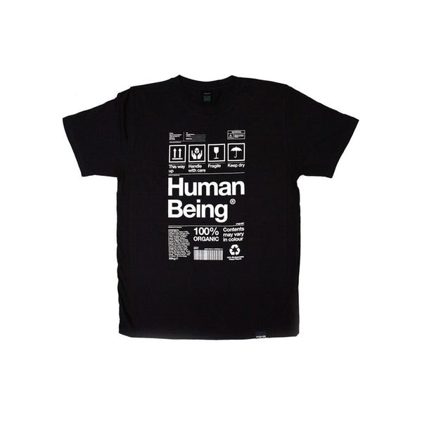 Human Being T-shirt - Black - Kids