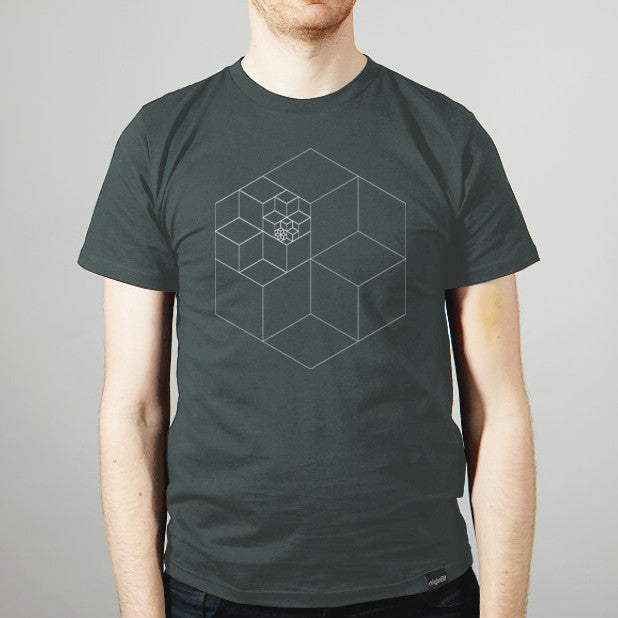 Infinity T-shirt _By Geometry Daily