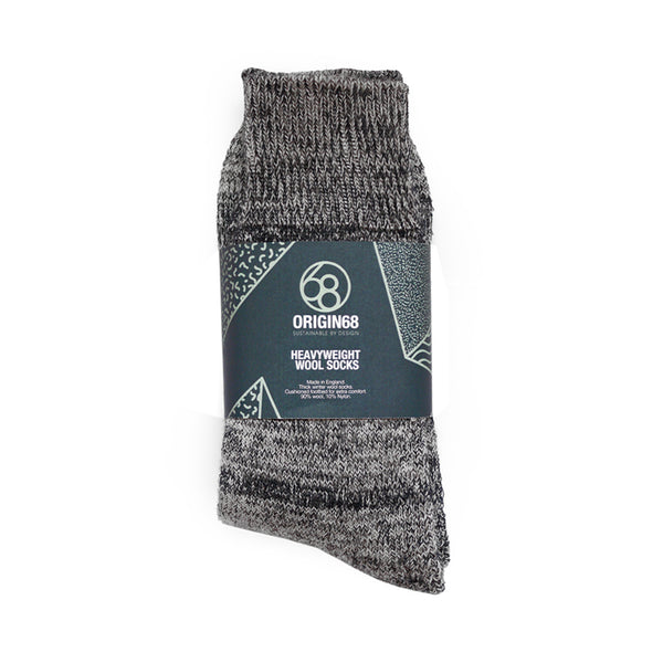 Heavyweight Wool Socks - Dark Navy