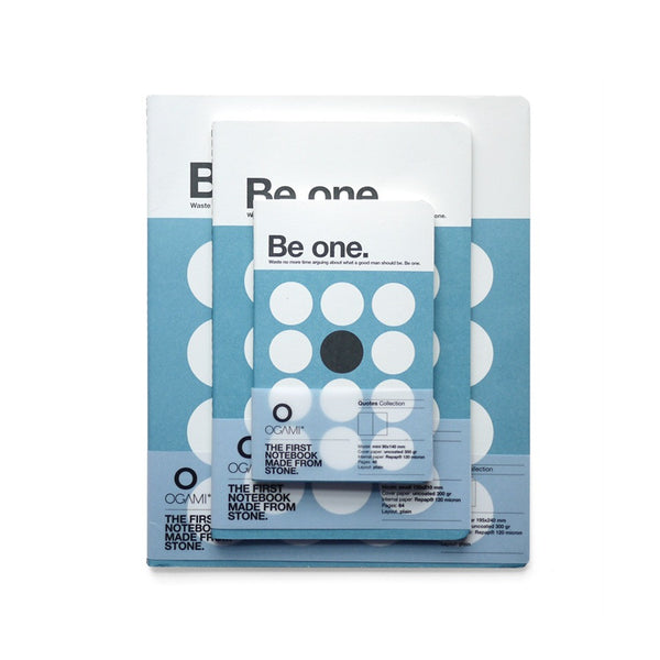Quotes 'Be One' Notebook