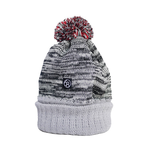 Merino Wool Hat - Grey Speckled