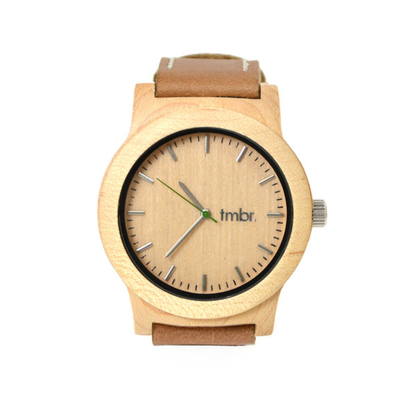 Wooden Watch - Knotty