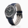 Q&Q Solar Power Watch - Navy Blue/Black
