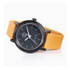 Q&Q Solar Power Watch - Mustard/Black