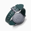 Q&Q Solar Power Watch - Green/Tan