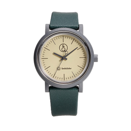 Solar Watch - Green/Tan
