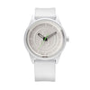 Q&Q Solar Smile Watch - White