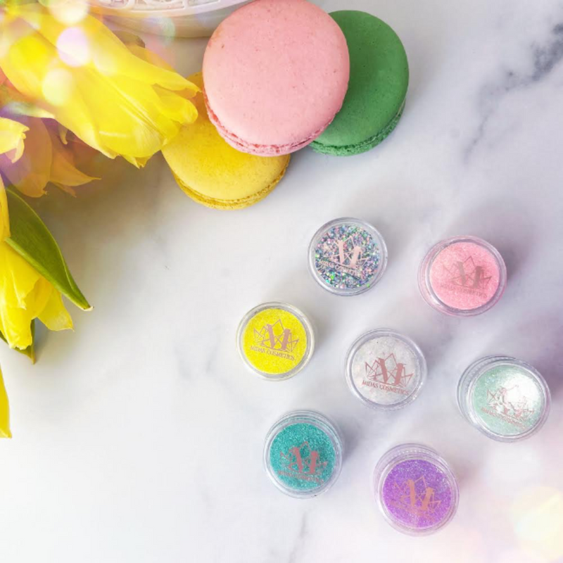 Queremos Pastel Glitter Collection
