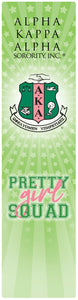 Pretty Girl Squad Bookmark Green