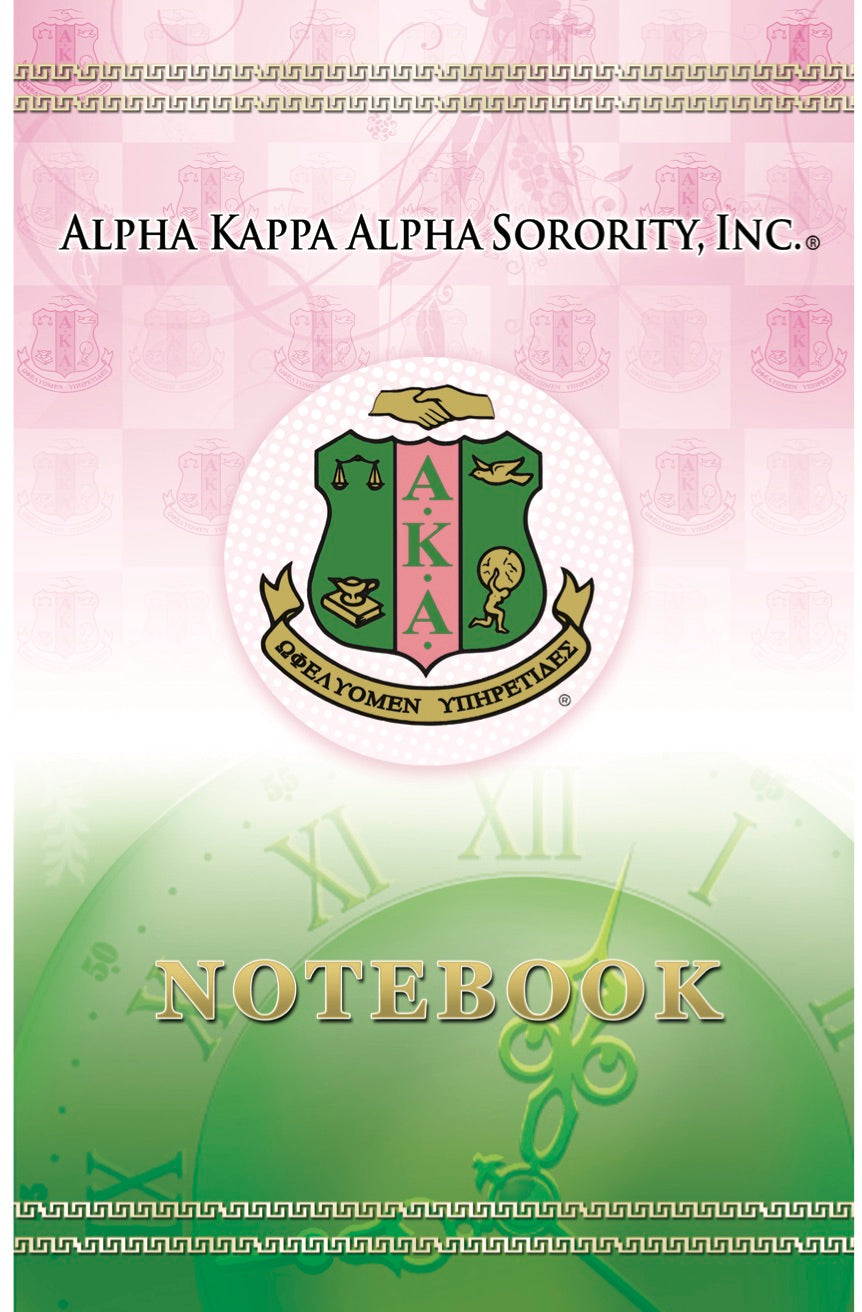 AKA Classic Crest Notebook (Collection Set)