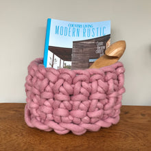 Medium Felted Wool Basket
