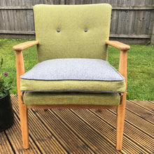 Parker Knoll 733 Midcentury Modern Chair, in contrasting Wools