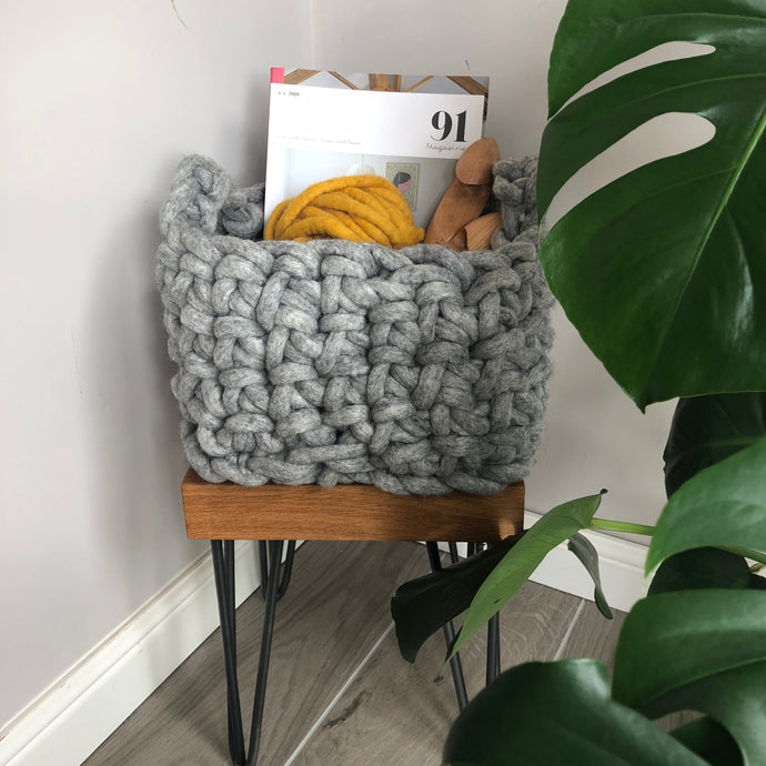 Large Felted Wool Baskets