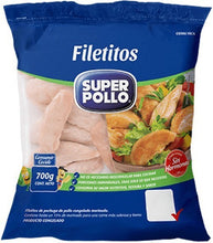 FILETILLO POLLO 700 GR.