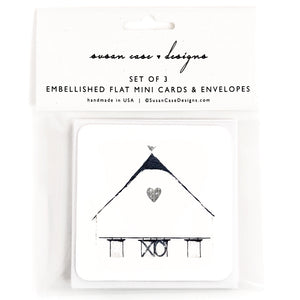 Farmhouse Gift Enclosure Card Set, Wedding Gift Tags