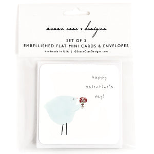 Valentines Day Cards / Enclosure Cards / Valentines Day Gift Tags / Mini Cards