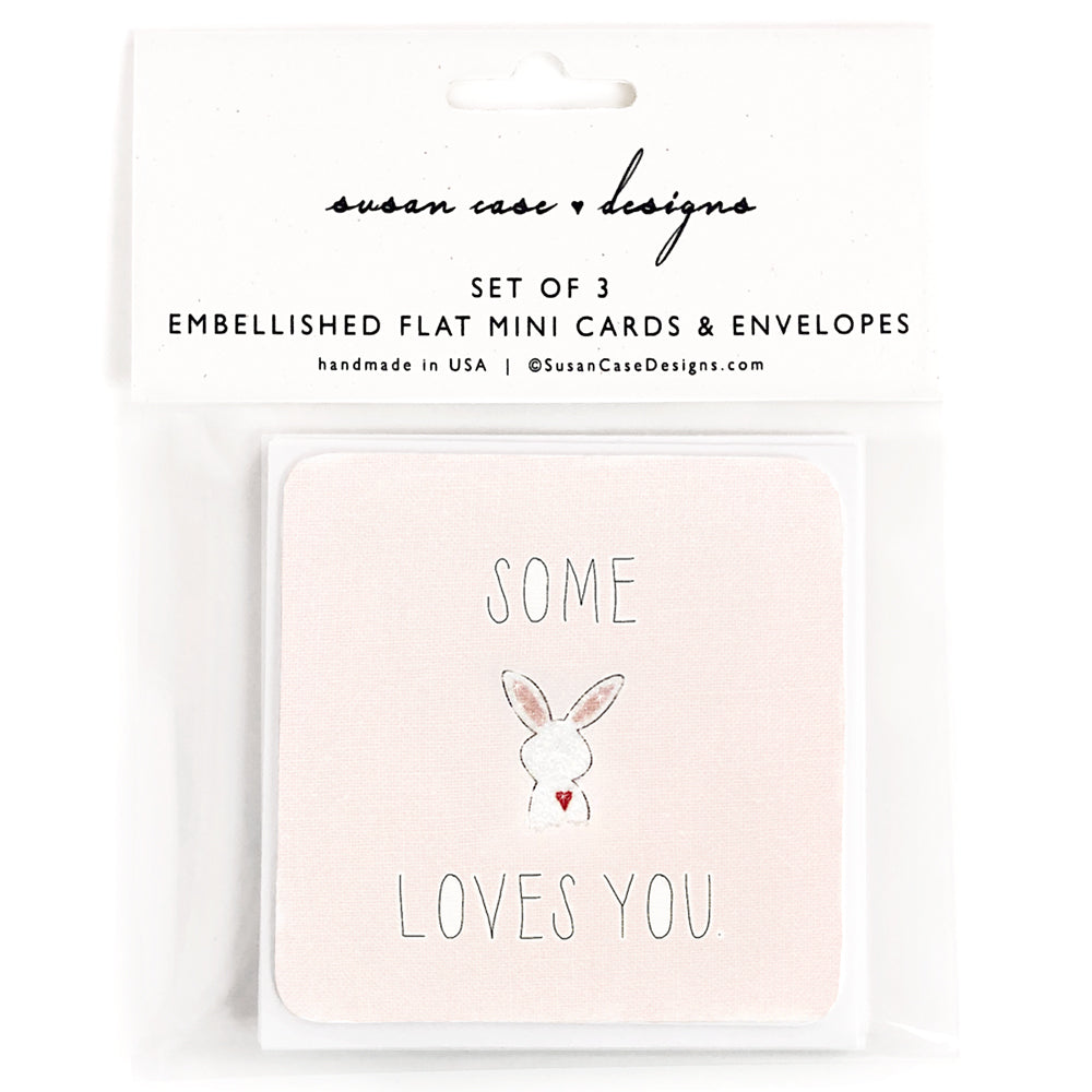 Love Gift Enclosures, Easter Gift Enclosure Card, Bunny Cards