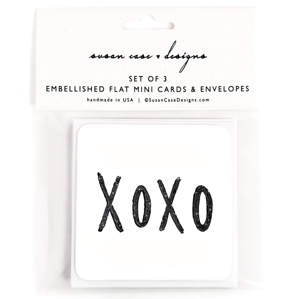 Gift Enclosure Cards / Gift Tags / Love Cards / xoxo / Susan Case Designs