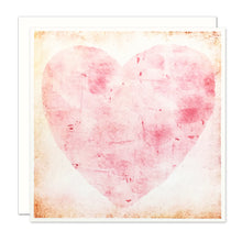 Load image into Gallery viewer, Pink Heart Card, blank inside