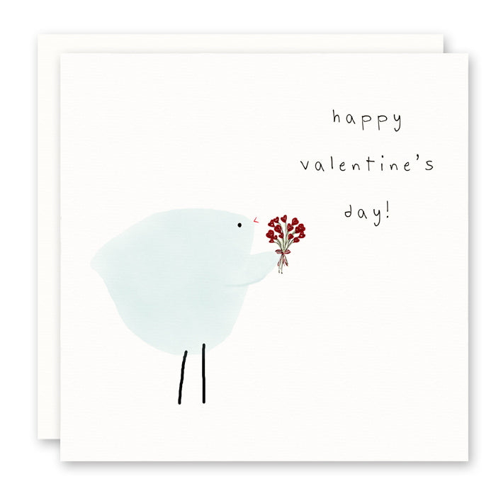 happy valentine's day card, cute, glitter optional