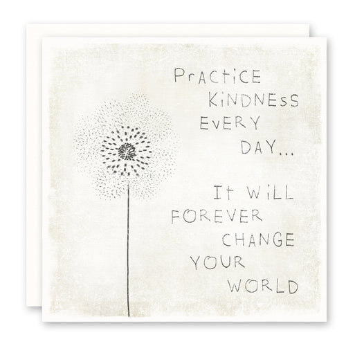 Uplifting quotes, inspirational print, greeting card, kindness