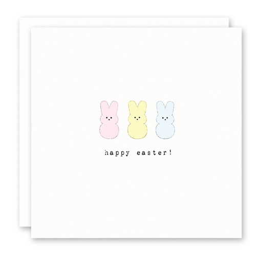 3 Little Peeps Easter Card