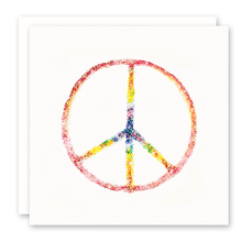 Load image into Gallery viewer, Greeting Cards | Rainbow Peace Sign | Susan Case Designs
