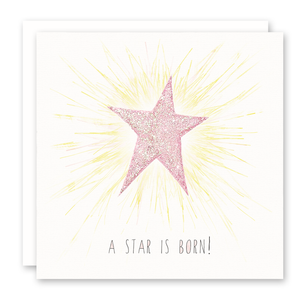 Girl Baby Cards | A Star is Born | Susan Case Designs