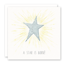 Load image into Gallery viewer, Star Is Born (Blue) Card