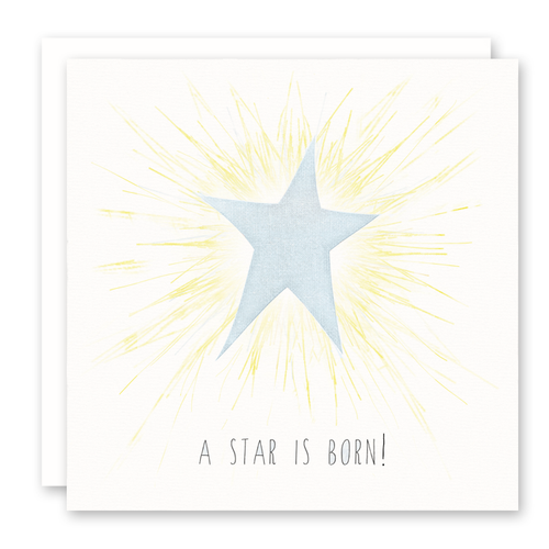 Star Is Born (Blue) Card