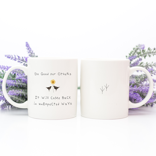 coffee mug, inspirational mug - Susan Case Designs