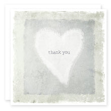 Load image into Gallery viewer, Thank You Heart Card
