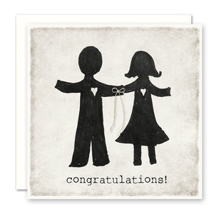 Congratulations - Wedding Card