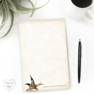 Fall to do list, leaf, ta-dah paper stationery, nature lover paper - susan case designs