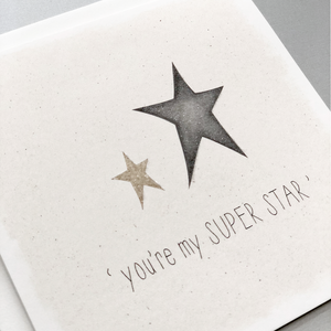 You're My Superstar Card