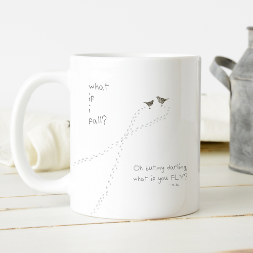 What If I Fall Mug