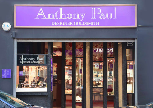Our boutique in Maidenhead with retro 70's styling frontage.