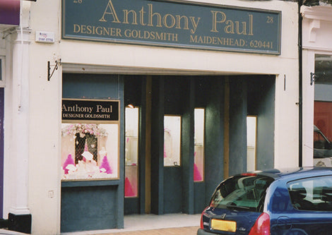 A vintage photo of our Maidenhead boutique
