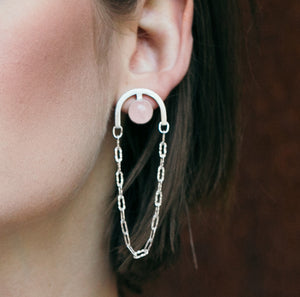 Deco Chain Earrings