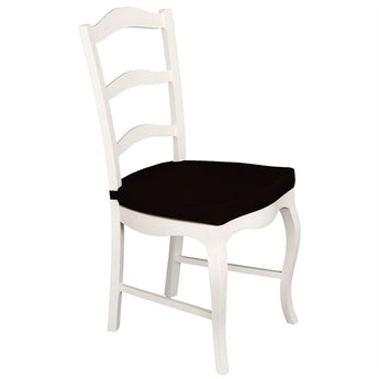 Province French Executive Chair  Mervin Solid Timber Dining Chair with Cushion - White CFS168CH-000-FP-CUSH-WH_1