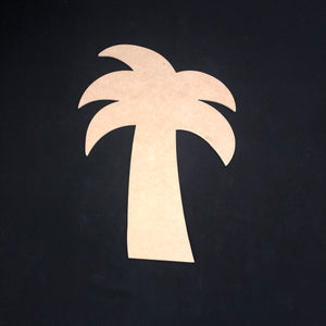 Palm Tree Wooden Cutout Wood, Door Hanger Wooden Blank