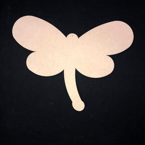 Magical Dragonfly Wooden Cutout Wood, Door Hanger Wooden Blank